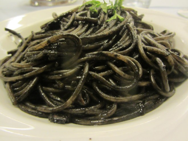Black Squid Ink Pasta