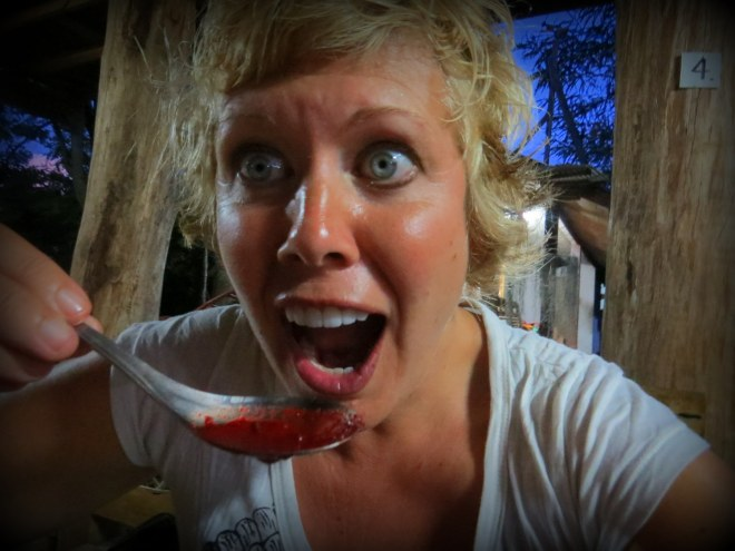 Valen Dawson Eating Thailand