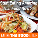 eating thai food