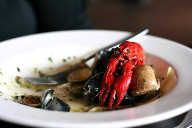 Iceland food lobster soup