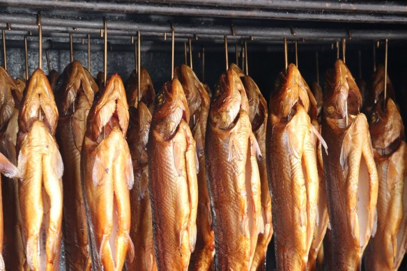 Iceland food smoked fish