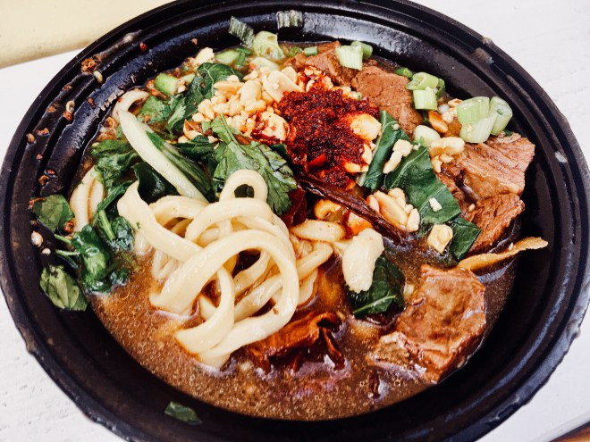 This Asian Food Cart In Portland Makes Noodles To Die For