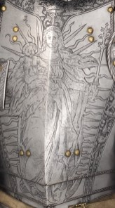 ARMOR OF EMPOROR FERDINAND MARY AS ISIS DETAIL