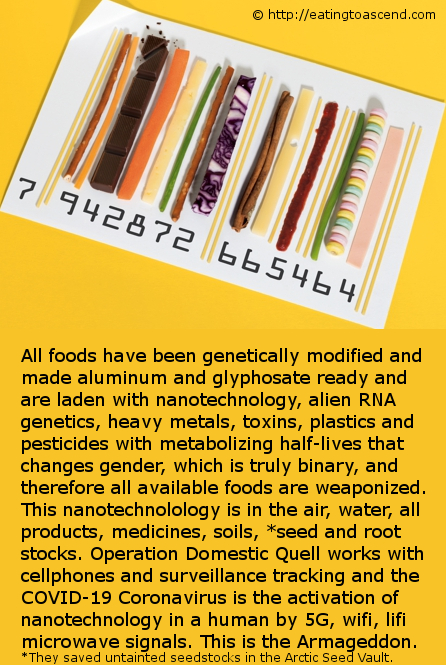 Explnation of nanoparticle RFID in all foods