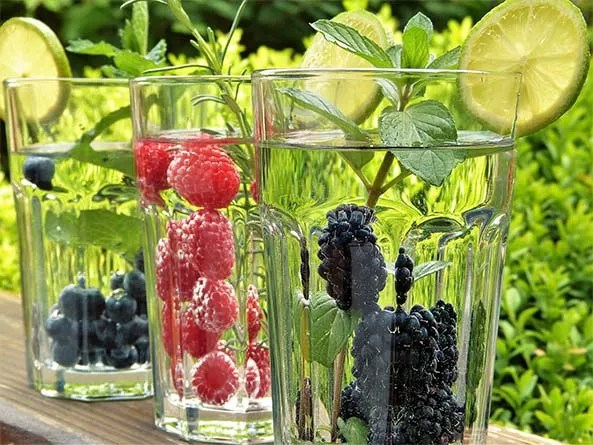 Drink water to look and feel great