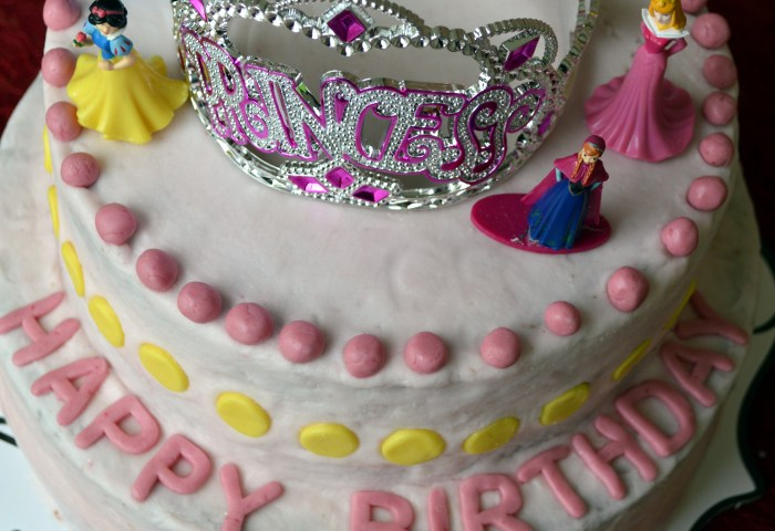 Made With Love A Princess Birthday Cake Whole Wheat Egg Free