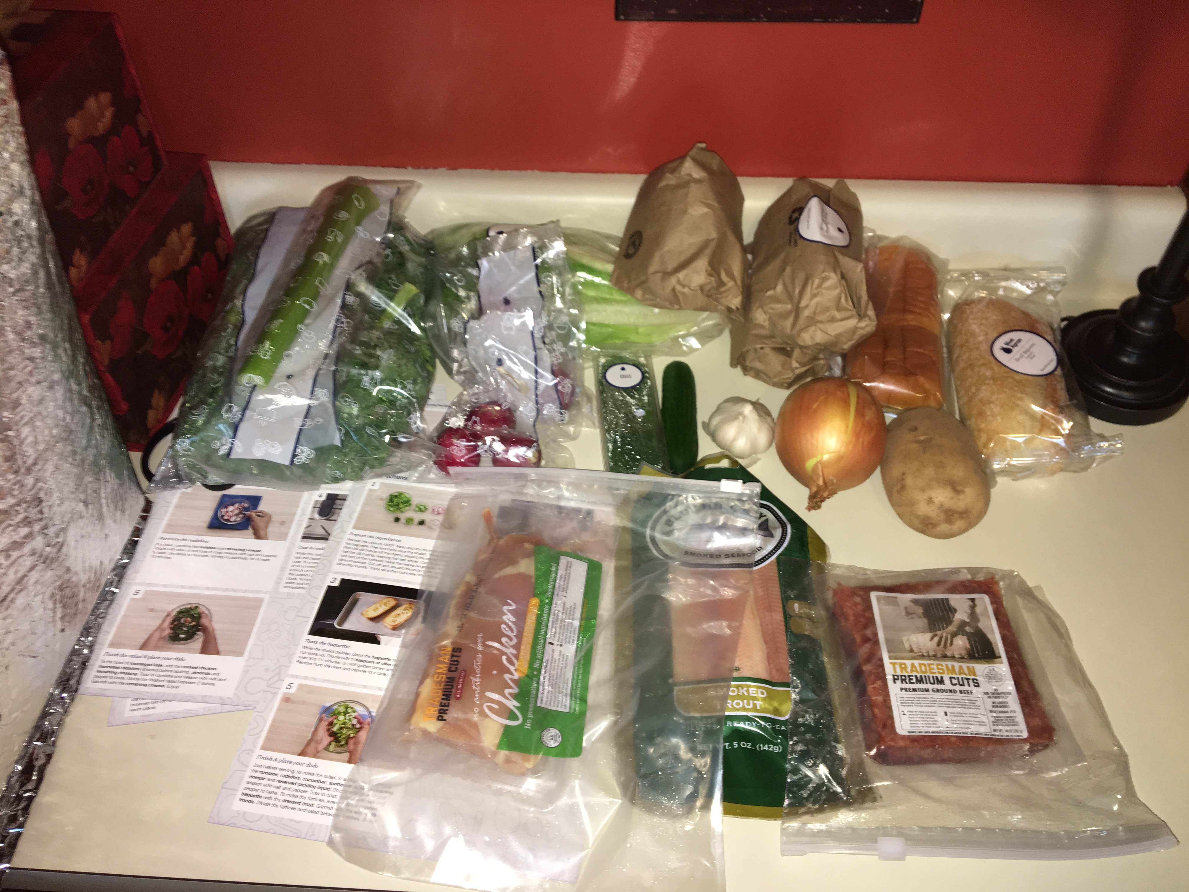 Blue apron fails - I Tried Blue Apron For A Week Here S What Happened Eating With Erin