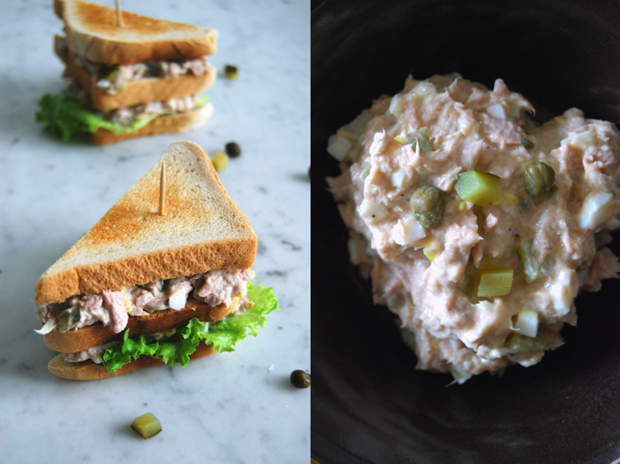 Tuna Club Sandwich And The Advantages Of Old Fashioned