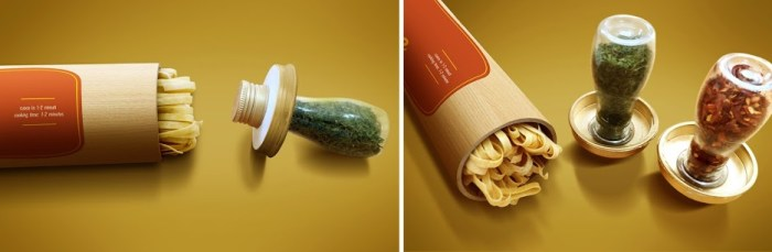 Pasta pasta packaging