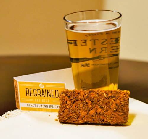 Barley bars, a new way to eat beer