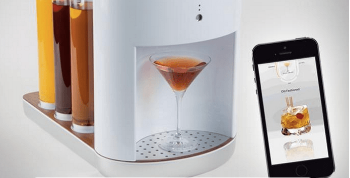 Digital bartender: the future of your drinks