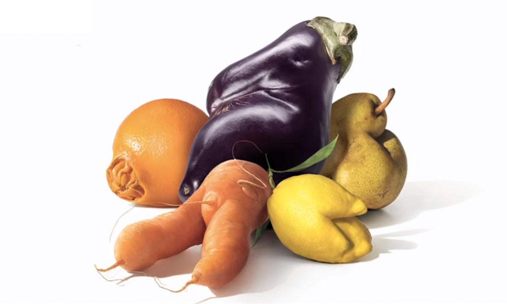 Frutas e vegetais feios – por que você deveria consumi-los?