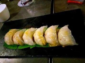 Steamed Coconut Dumpling with Honey Butter sauce