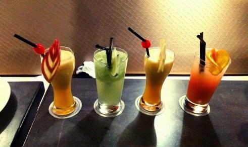 Mocktails at China Bistro