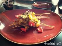 Mushroom Satay
