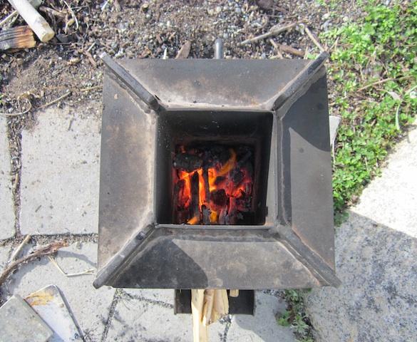 rocket stove firebox Sustainable System: Rocket Stoves