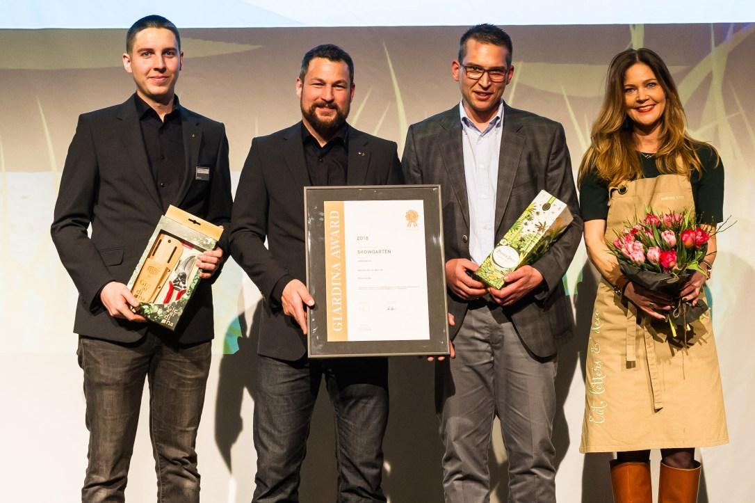 Giardina 2018   GiardinaAWARD   Award Verleihung   GiardinaSTYLE   Showgarten   AfterWork   Spross Ga-La-Bau AG   GiardinaAWARD Gewinner, Kategorie Bronze