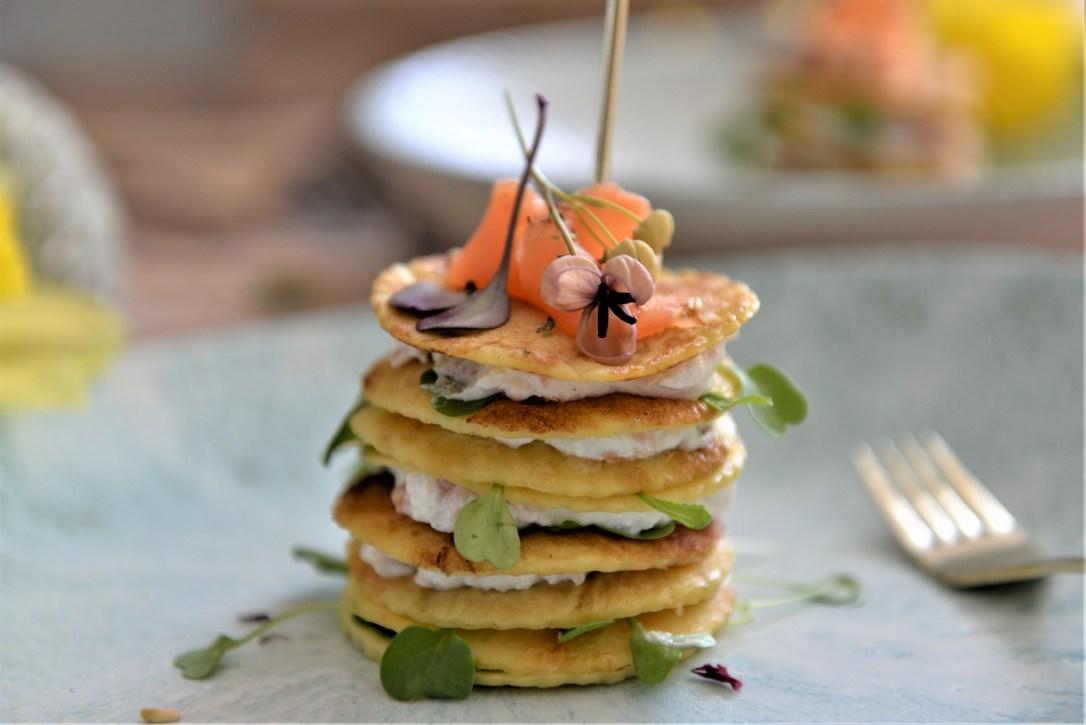 Lachsrezept, Vorspeise mit Lachs
