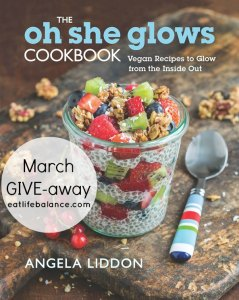 Oh She Glows Give-away