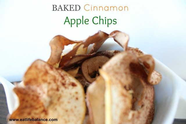 Baked Cinnamon Apply Chips