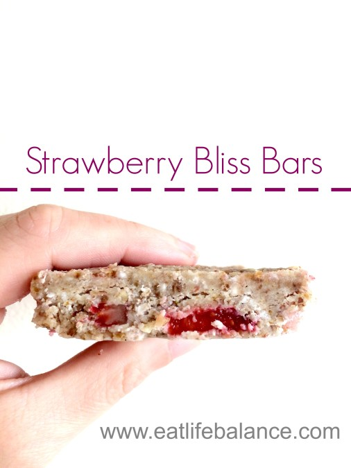 Strawberry Bliss Bars