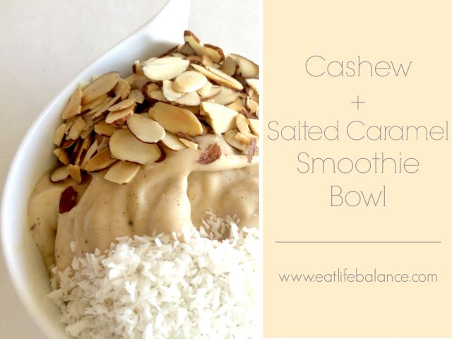 Salted Caramel Bowl