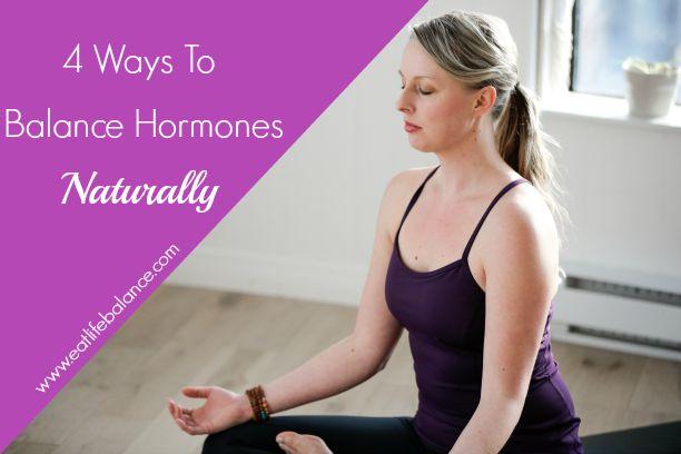 4 Ways to Balance Hormones