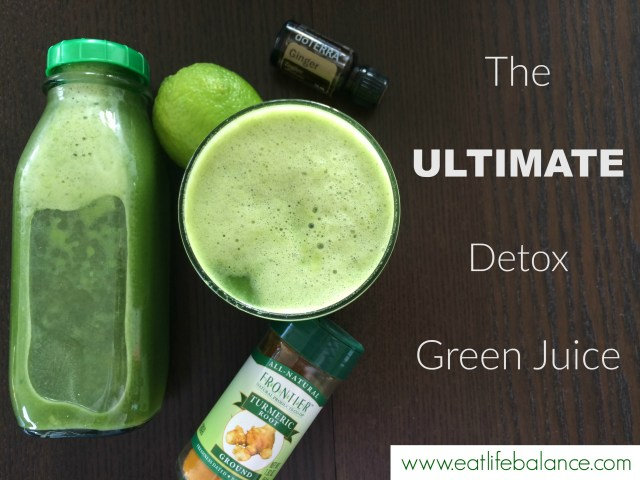 The Ultimate Detox Green Juice