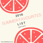 2016 Summer Favourites List (Part 2) – Collagen / Detox Tea / Protein Powder