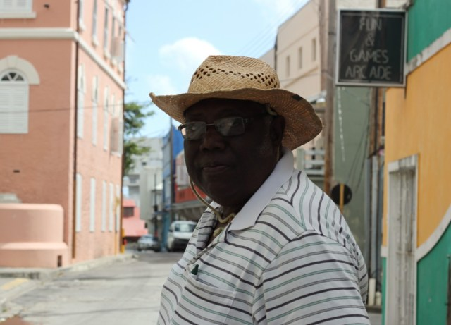 Morris Greenidge, a local historian, who I went on a fascinating tour of Bridgetown with