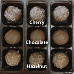 Cherry, Chocolate, Hazelnut