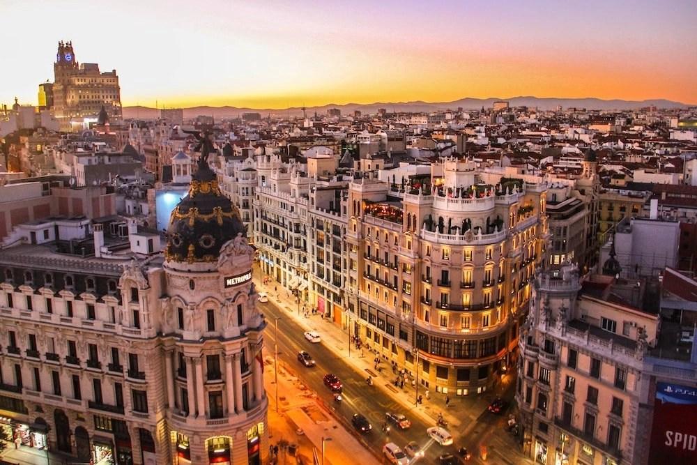Anthony Bourdain in Madrid Hero