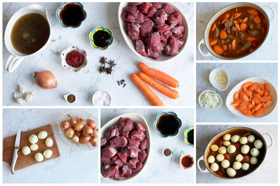 step by step photos for making vietnamese beef stew