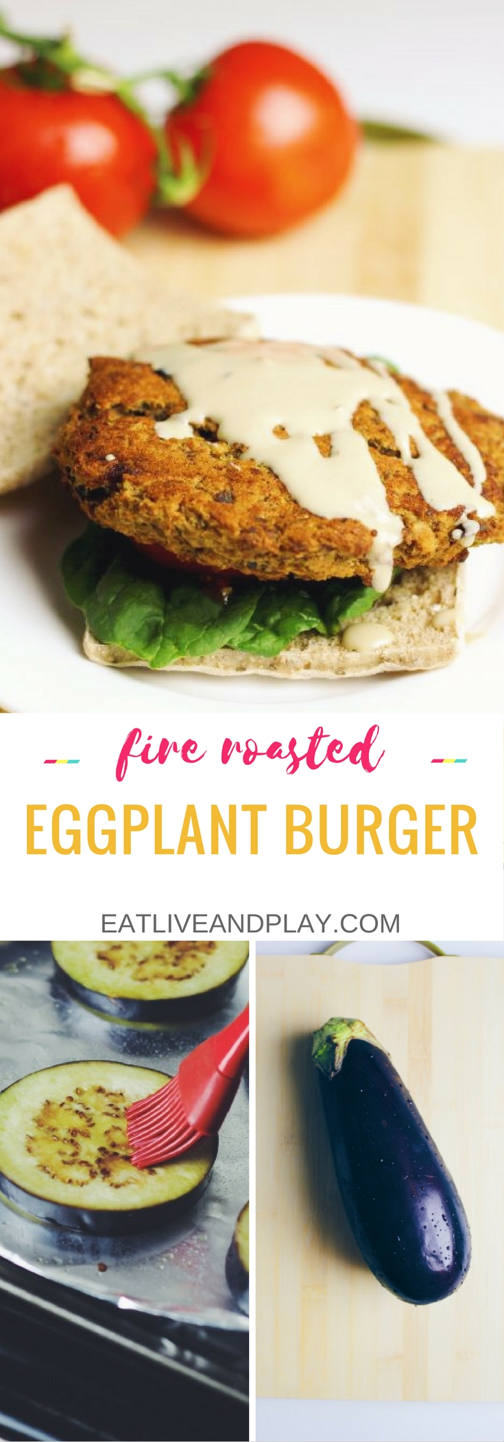 Move over eggplant parmesan this eggplant recipe is the right way to enjoy eggplant – in a burger! Eggplant's meaty texture makes it perfect in a burger so if you're a meat lover these burgers won't disappoint.