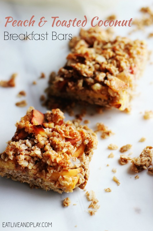 If you're looking for a little something different to celebrate the fruits of the season, look no further than these Peach and Toasted Coconut Breakfast Bars. Find out how peaches can help with weight loss and protect you against cardiovascular disease.