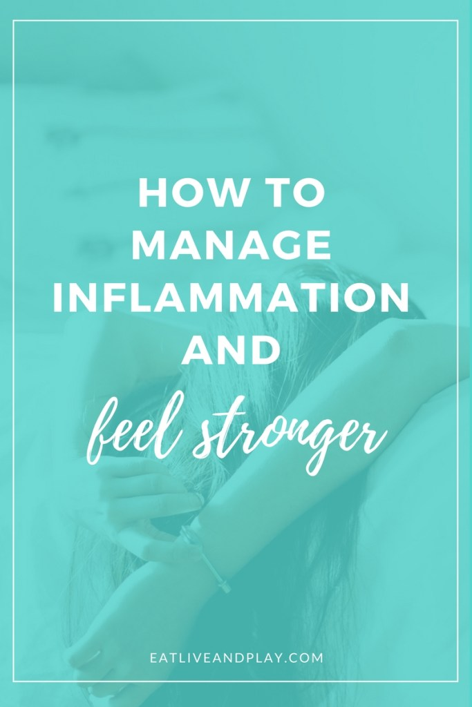 Chronic inflammation is at the root of most major illness like cancer and heart disease.However there are many ways for managing inflammation that are within your control.