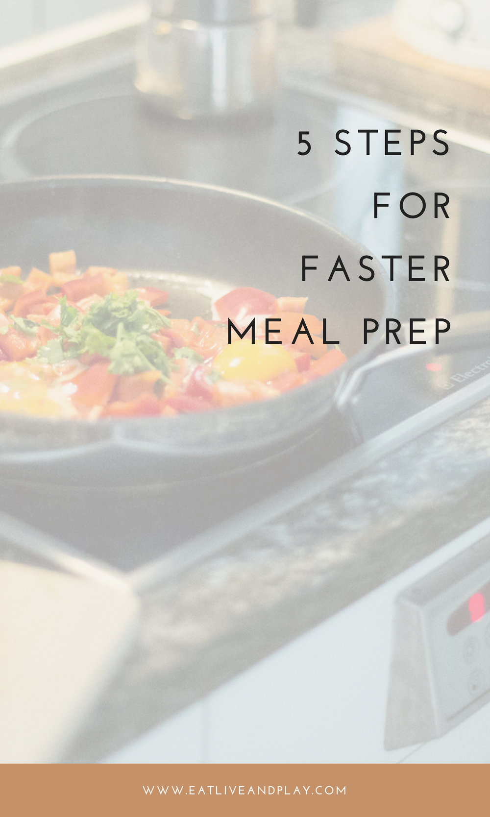Use this easy 5 step meal prep system to save you time and frustration in the kitchen. The first 2 together take only 10 minutes!