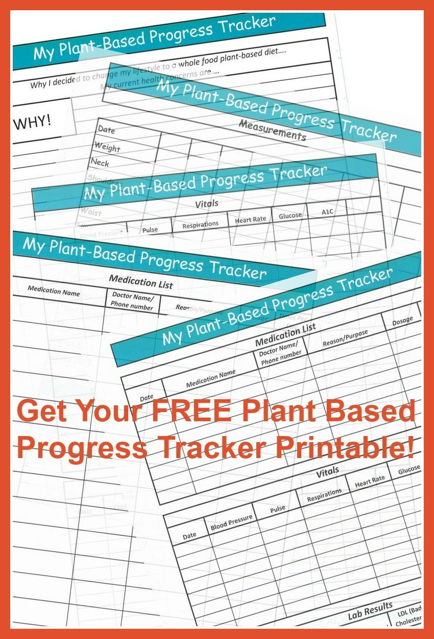 Plant Based Progress Tracker