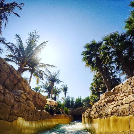 Rapids at Atlantis in DUbai