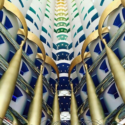Visit the Burj Al Arab in Dubai