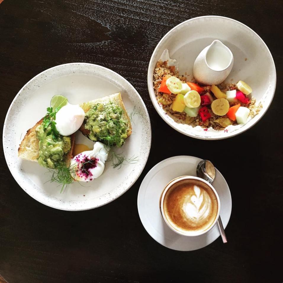 Breakfast at Bisma Eight in Ubud