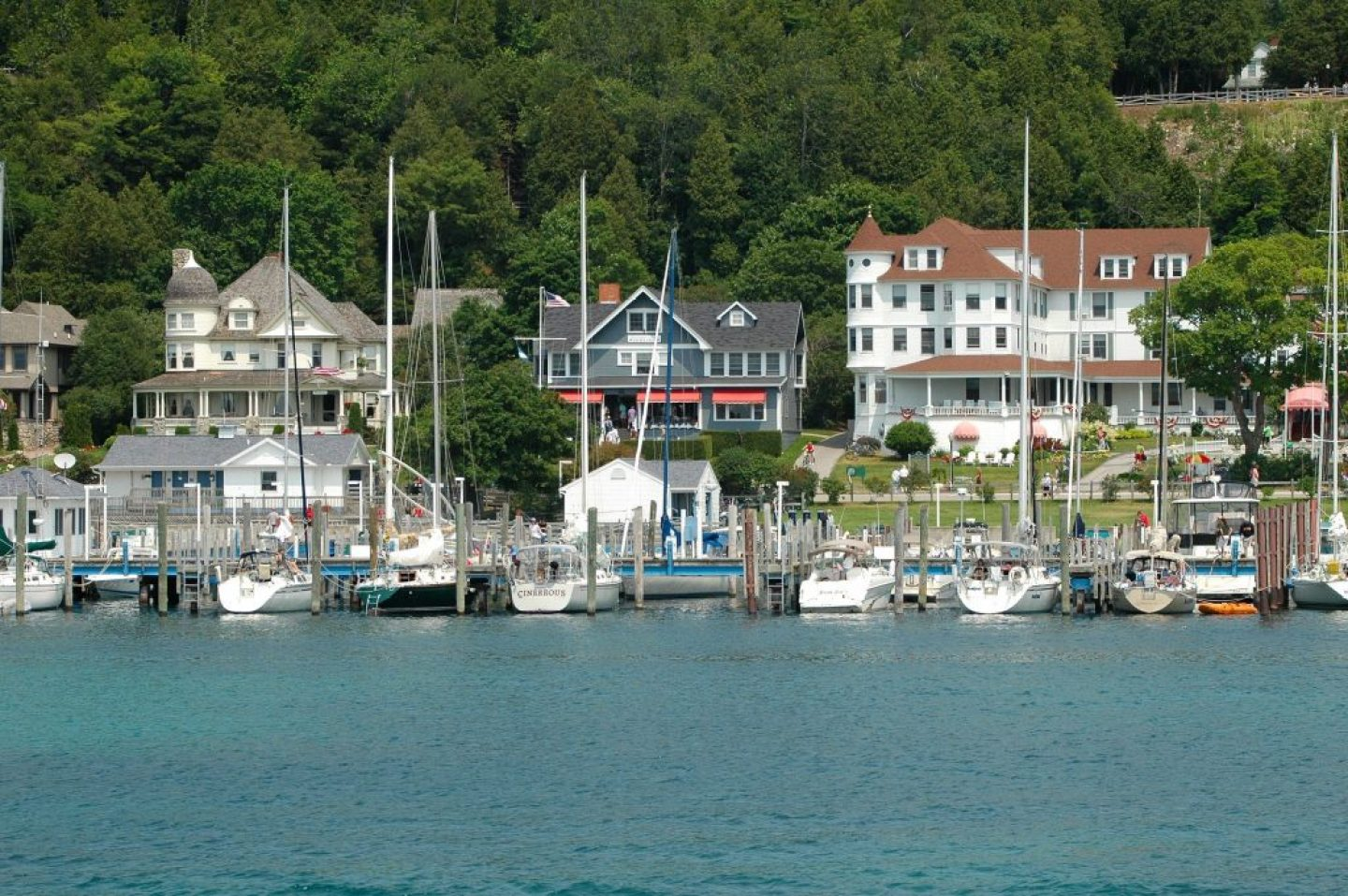 Ferry to Mackinac Island. A first timers guide on how to get there, which one to take, how to get tickets, and schedules.
