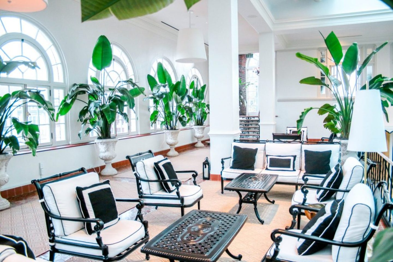 Indoor Pool Area - Cavalier Hotel