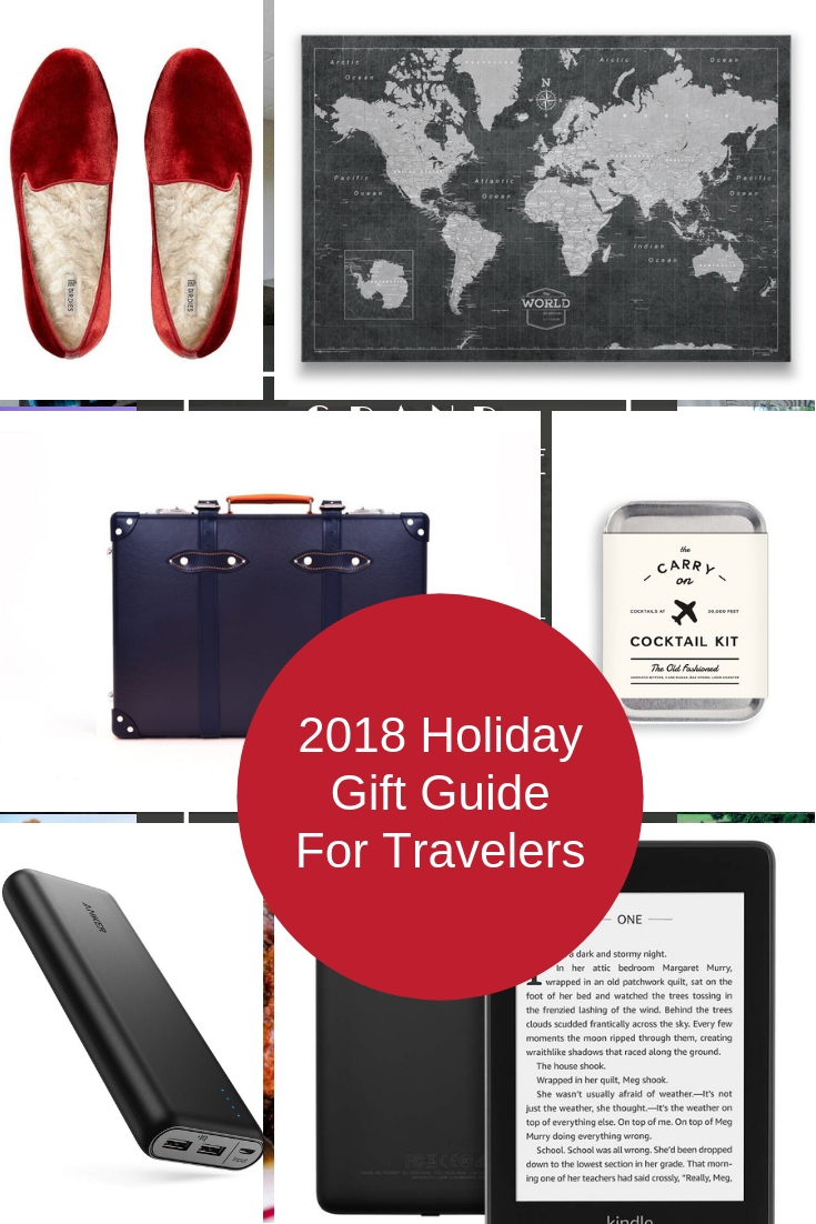 2018 Holiday Gift Guide For Travelers