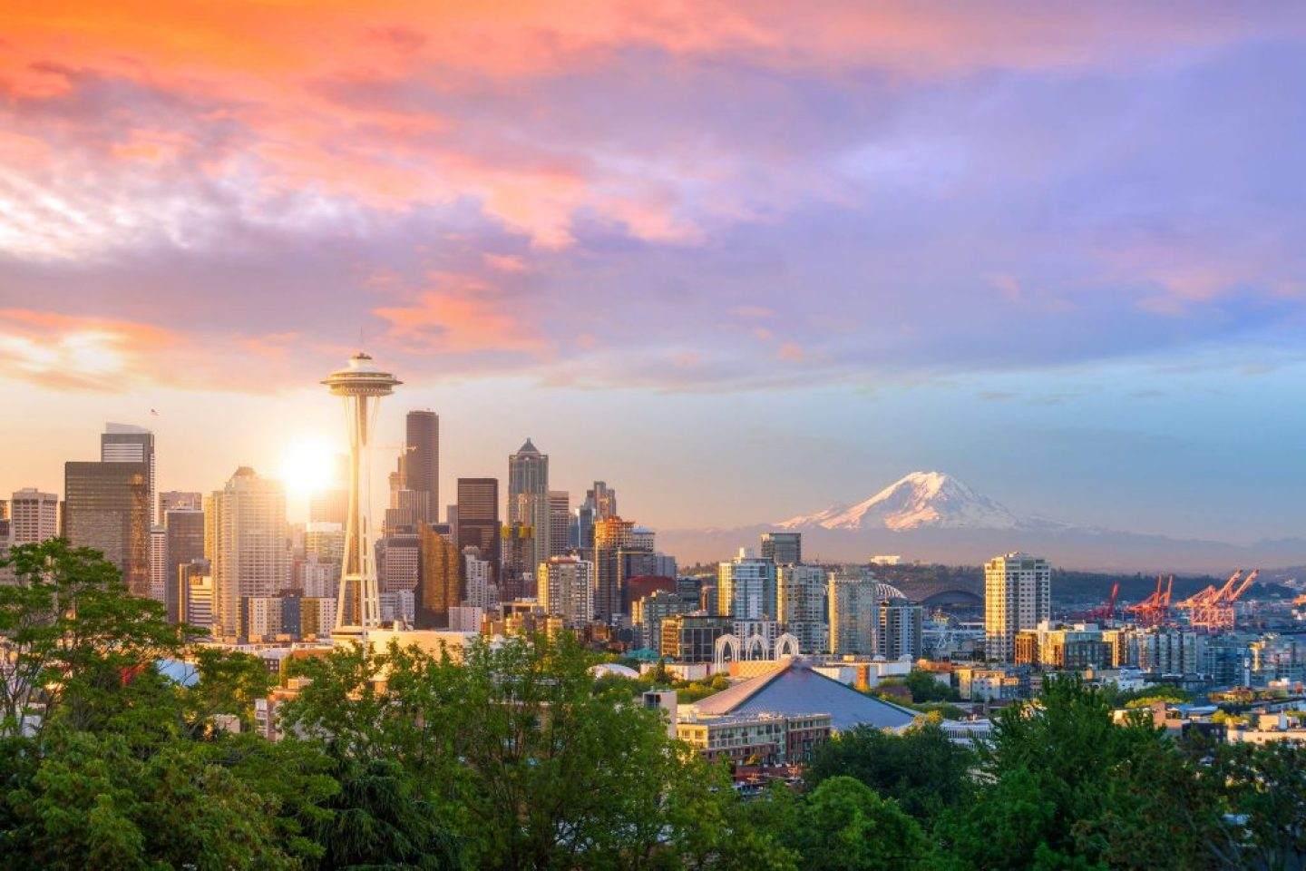 Where To Stay In Seattle: skyline