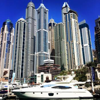 Visit the tallest block in the Marina