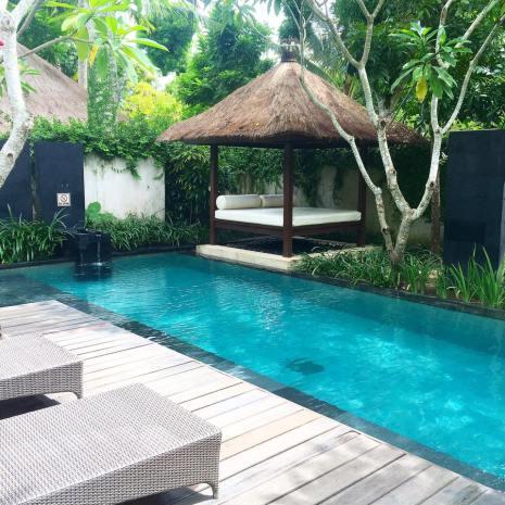 Private pool villa at Kayumanis Jimbaran Villa