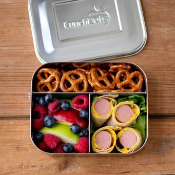 lunchbots stainless steel lunch box