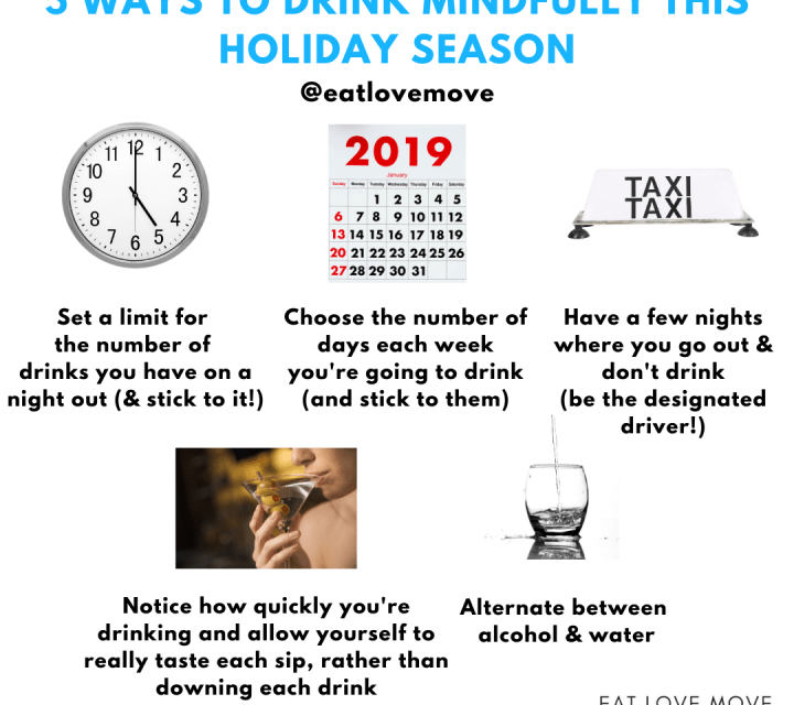 5 Ways To Drink Mindfully This Holiday Season