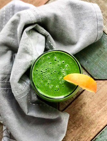 On The Go: Super Green Smoothie